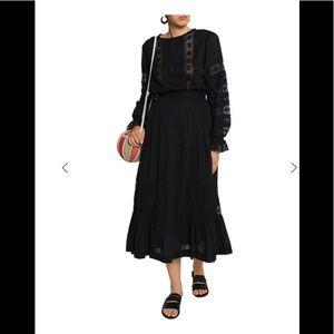 Antik Batik bohemian dress. Black. Sz XS